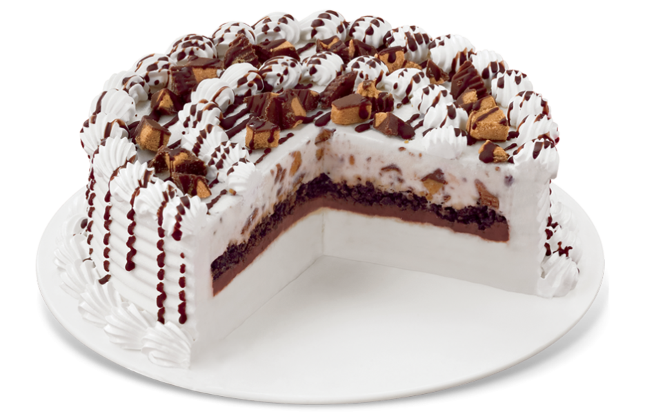 Reese's® Peanut Butter Cups Blizzard® Cake